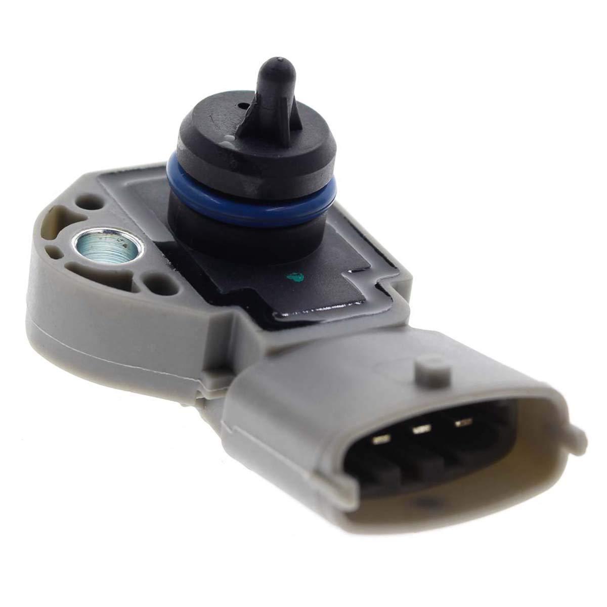 AUTOKAY Fuel Pressure Sensor 0261230238 for Volvo XC60 XC70 XC90 V50 V60 V70 S40 S60 S80 C30 C70 0261230238 Land Rover LR2