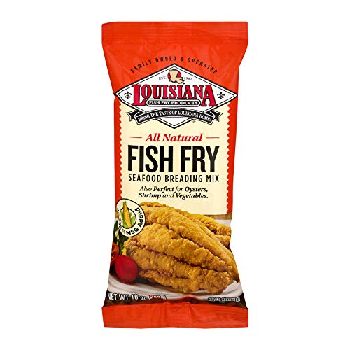 All Natural 10 Oz. Louisiana  Fish Fry  All Natural . No Msg , No Salt