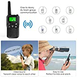 EKOOS Walkie Talkies Long Range for Kids and Adults Two-Way Radios Up to 5 Miles in Open Areas 22 Channels FRS/GMRS VOX Scan LCD Display with LED Flashlight, Gifts for Girls and Boys