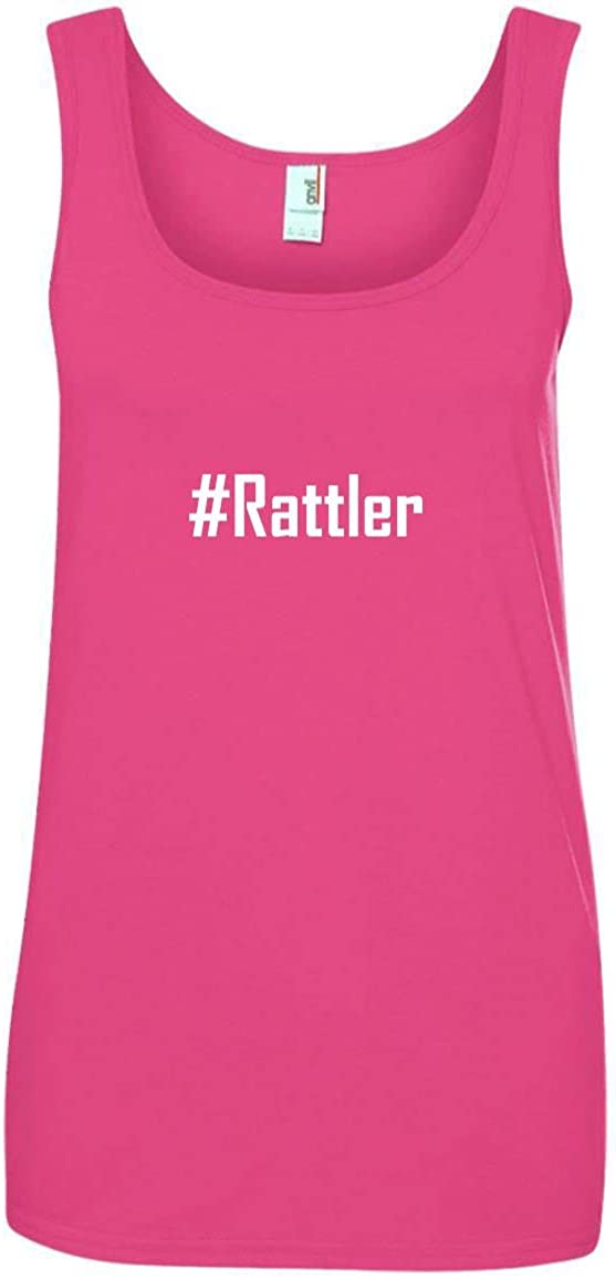 CHICKYSHIRT #Rattler A Soft /& Comfortable Womens Ringspun Cotton Tank Top