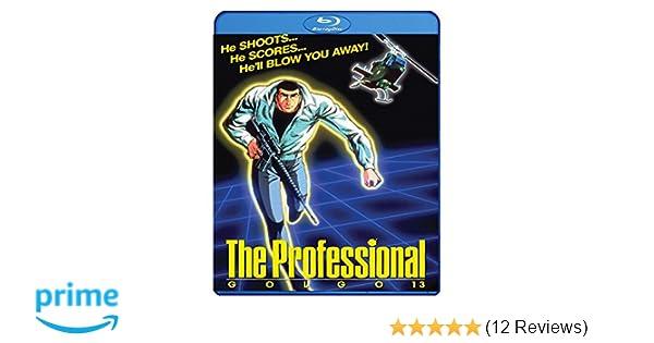 Amazon.com: Golgo 13: The Professional Blu Ray [Blu-ray ...
