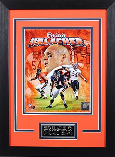 bbf40bfbc Image Unavailable. Image not available for. Color  Brian Urlacher Framed  8x10 Chicago Bears ...