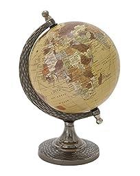 Deco 79 68846 Elegant And Stunning Metal PVC Globe, 7\