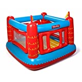 Fisher Price Bouncetastic Inflatable Castle Bouncer With Removable Mesh Walls