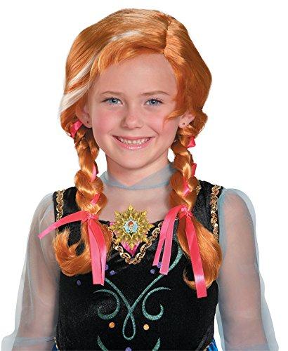 82467/196 Child Anna Wig Frozen Costume Wig