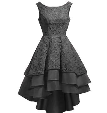 Chugu Women s Prom Party Dress Short Homecoming Dresses Juniors Lace A Line  Hi-Lo C21 7ef886a53c5a