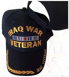 Amazon Com Iraq War Veteran Embroidered Baseball Cap