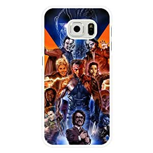 Samsung Galaxy S6 Case, UniqueBox Customized Marvel Comics X-Men Wolverine White Hard Plastic Case Only Fit For Samsung Galaxy S6