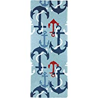 Jellybean Ship AHoy Indoor/Outdoor Rug 21 X 54