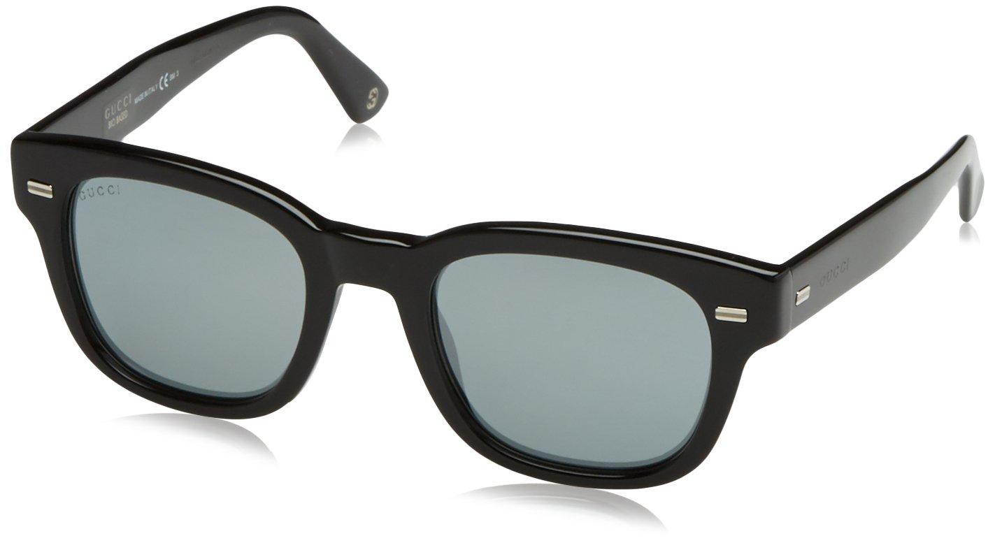 Gucci GG 1079/S BJ Wayfarer Sonnenbrille 50 mm, Schwarz (4UA), 50/22/150