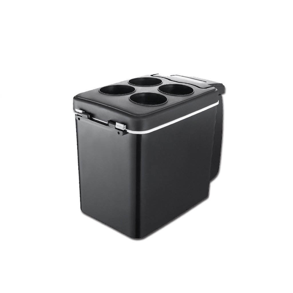 fjsajuf 6L coche portatil de coche mini nevera refrigerador de casa doble prop/ósito. nevera