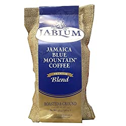 Jamaica Blue Mountain Premium Blend Ground Coffee (16 Ounces)
