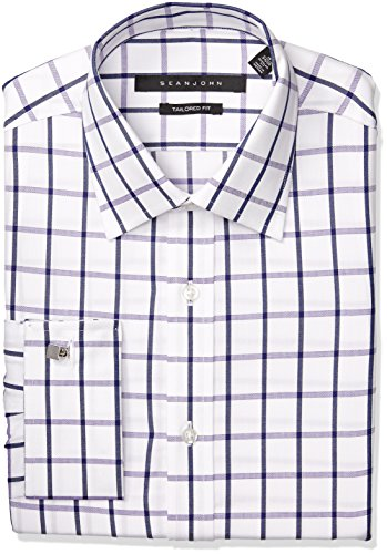 sean-john-mens-regular-fit-windowpane-check-spread-collar-dress-shirt-deep-purple-165-neck-36-37-sle