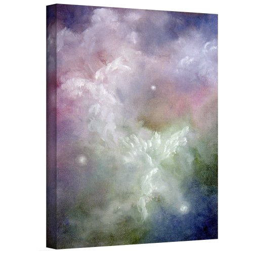 ArtWall Dancing Angels Gallery Wrapped Canvas Art by Marina Petro, 24 by 18-Inch