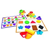 Play-Doh Shape and Learn Colors and Shapes