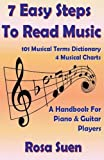 7 Easy Steps To Read Music - A Handbook for Piano & Guitar Players