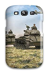 New Artistic Tpu Case Cover, Anti-scratch esra aldehaim Phone Case For Galaxy S3