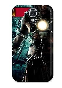 Premium Durable Iron Man Movie 2 Fashion Tpu Galaxy S4 Protective Case Cover