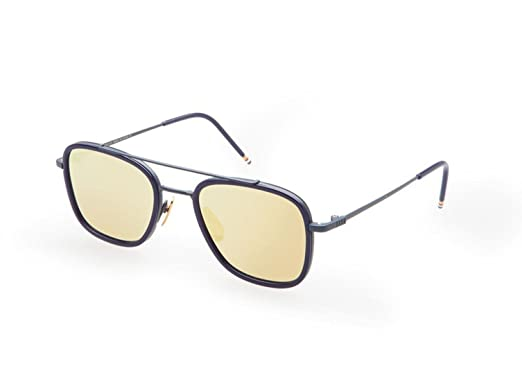 41406ae1c7f Image Unavailable. Image not available for. Color  Sunglasses THOM BROWNE  TB 800 E-NVY ...