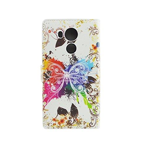 Mobile Phone Cases&decorate Para Huawei Mate 8 Acaleph patrón horizontal Flip caja de cuero con el titular y ranuras para tarjetas y cartera ( SKU : Mlc0326b ) Mlc0326k