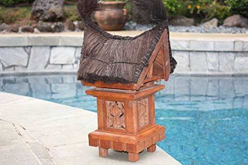 TRADITIONAL BALINESE OUTDOOR LANTERN - 25'' OUTDOOR LIGHT 2 by TikiMaster