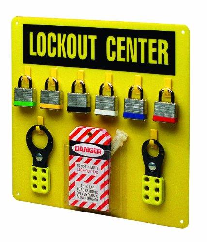 Brady 3003Y Prinzing EcoNomy Lockout Center (1 Each) by Brady