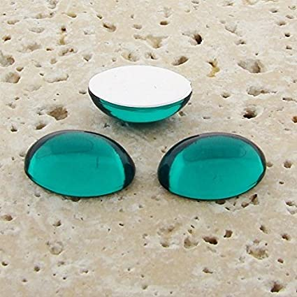Natural 10 pic Aqua Chalcedony 8X10 mm oval shape cabochon\u00a0loose gemstone for women jewelry for sale with free shipping