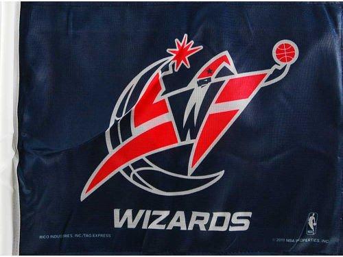 (Rico Industries NBA Washington Wizards Car Flag)