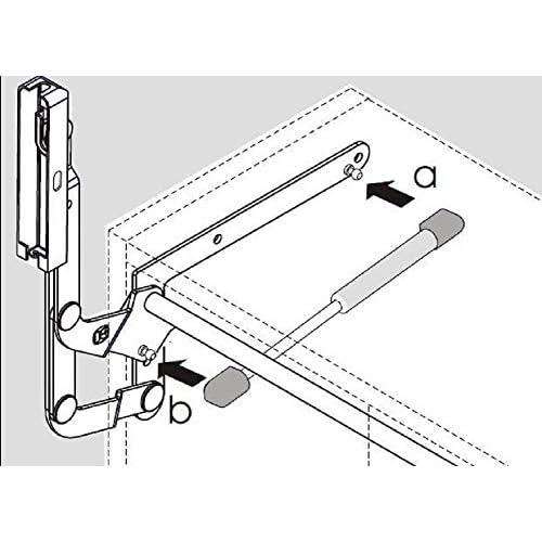 Kessebohmer Lift O Mat Gas Piston 250 N (56lb) (Part-nr.: 0013379006) - Stabilus Lid Stay Gas Spring free shipping