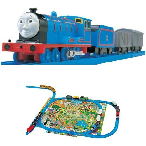 Plarail Thomas TS-02 Edward clean up the play map set