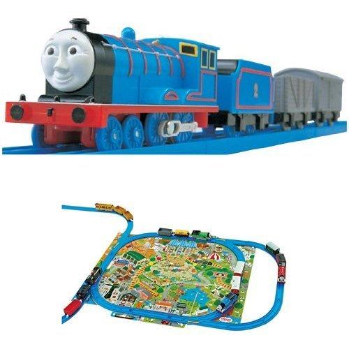 Plarail Thomas TS-02 Edward clean up the play map set