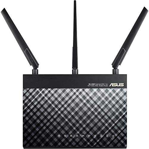 ASUS RT-AC1900 Dual Band WiFi Router (Certified Refurbished) by Asus