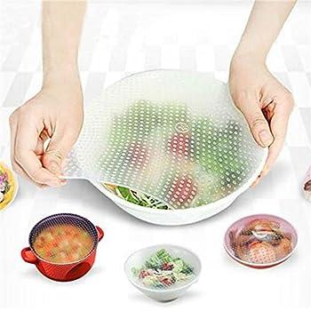 Amazoncom Super Hot Deals Reusable Silicone Food Wraps Seal Cover