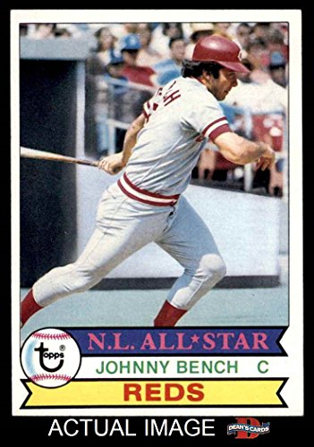 1979 Topps # 200 Johnny Bench Cincinnati Reds (Baseball Card) Dean's Cards 6 - EX/MT Reds