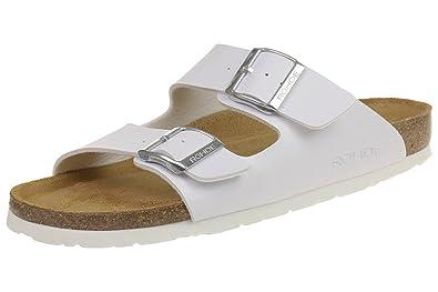 Rohde Riesa 5631 Damen Zehentrenner Schuhe wei