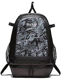 Trout Vapor Baseball Backpack - Black/Black-White