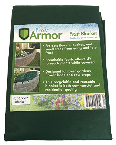 Frost Blanket (Frost Armor Blanket 10.5' X 12' (Frost Protection for Plants))