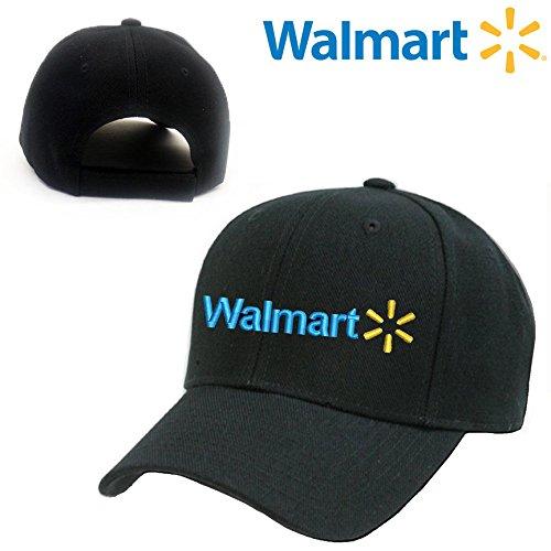 walmart-black-embroidery-adjustable-baseball-cap-souvenier-gift-unique-hat