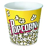 SOLO Cup Company VP85 Paper Popcorn Bucket, 85 oz, Popcorn Design, 6 packs of 25 per Box