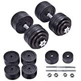 200 lbs Adjustable Cap Weight Workout Dumbbell Set