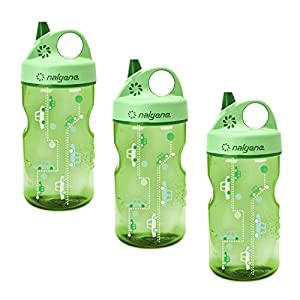 Nalgene Grip n Gulp Everyday Kids 12oz Water Bottle 3 Pack