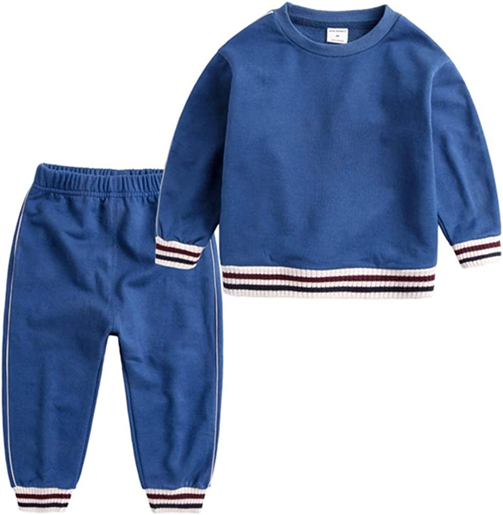 AMILIEe Infant Boy Clothes Short Sleeve Shirts Pants Set 2pcs Newborn Outfits Clothing Set
