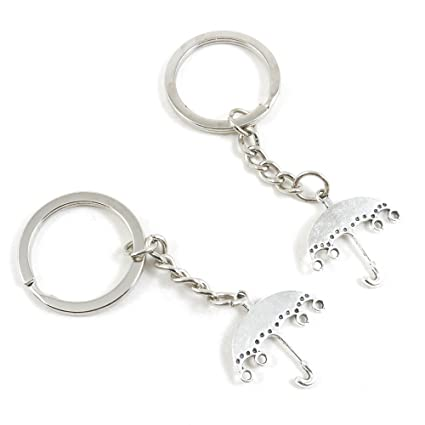 Amazon.com  90 Pieces Fashion Jewelry Keyring Keychain Door Car Key ... 835a6e00c733