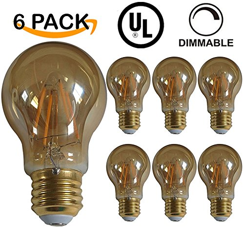 PACK LISTED Filament DIMMABLE Equivalent