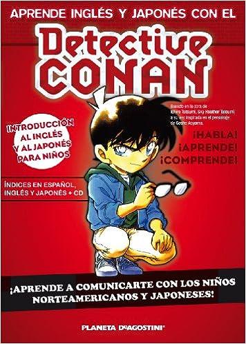 Detective Conan Aprende inglés y japonés: 25 Manga Shonen ...