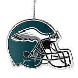 NFL Philadelphia Eagles Flat Metal Helmet Ornament