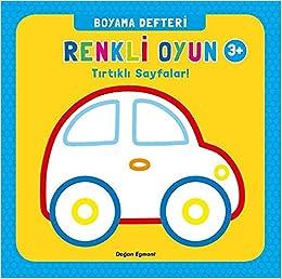 Renkli Oyun Boyama Defteri 9786050945973 Amazoncom Books