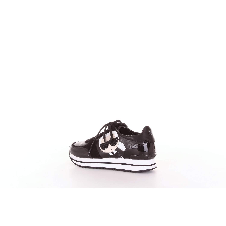 3dae03029e4 Karl Lagerfeld Velocita Ii Karl Ikonic Meteor Trainers Black 6 UK   Amazon.co.uk  Shoes   Bags