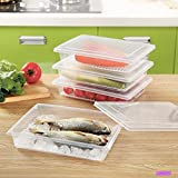 Toku Plastic Containers, Clear
