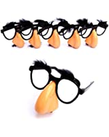Dazzling Toys Nose, Eyebrows & Mustache Glasses - 12 Pieces (D045/2)